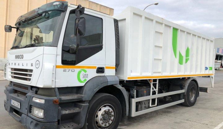 Reforma camión volquete Mallorca